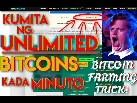 Get Unlimited Free Bitcoins Every Minute. Pinagbabawal Na Technic. Freebitco.in Farming Tricks