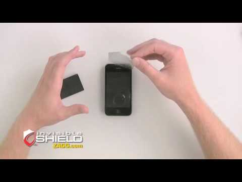 invisibleSHIELD™ - Apple iPhone 3G Install