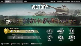 Epic Defender Tiger II German heavy tank World of Tanks PS4 on North West