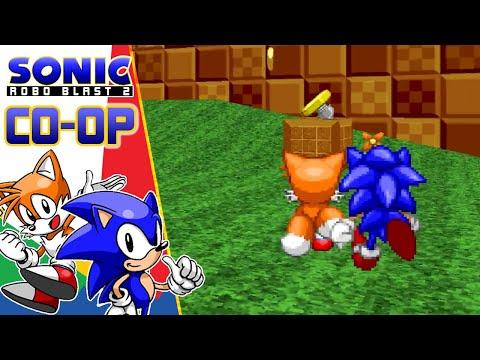 😂VOLVEMOS A LA CARGA😂   Sonic Robo Blast 2 V2.2 - Cooperativo Parte 1   Sergindsegasonic