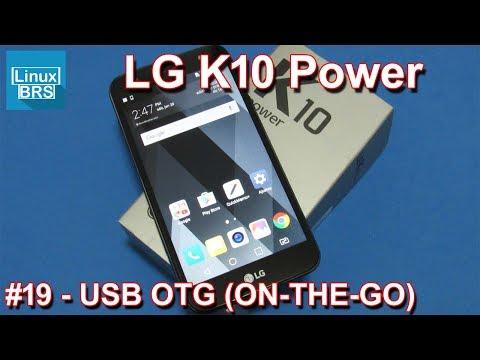 LG K10 Power - USB OTG (ON-THE-GO)