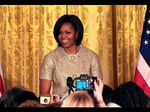The First Lady on International Women's Day
