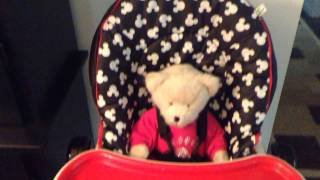 Disney Adjustable High Chair, Mickey Silo