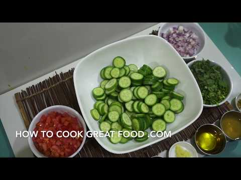 Indian Style Cucumber Salad Recipe