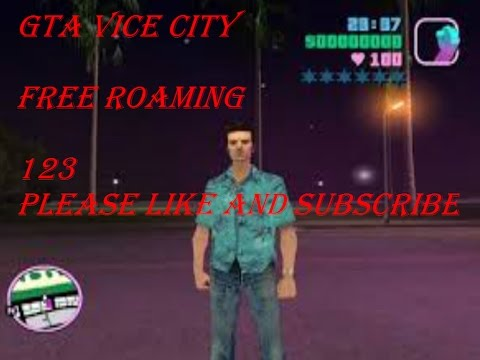 gta vice city free roam gameplay  tommy hi