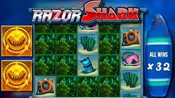 x??? win / Razor Shark free spins compilation! #2