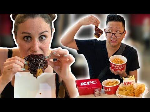 KFC In Thailand Has The Worlds Spiciest Fried Chicken 🇹🇭🍗