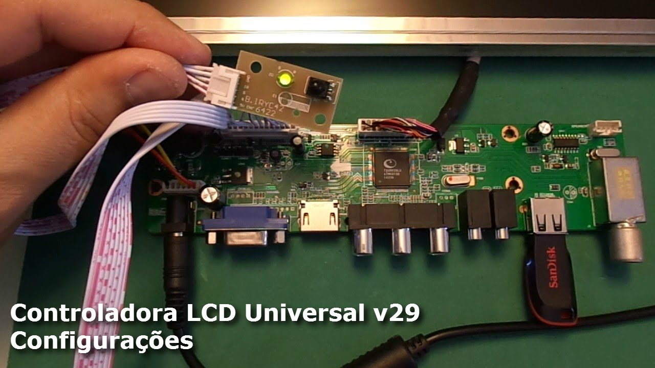 T Vst59 031 Circuit Diagram Pdfvst Wiring Diagrams Holder Fuse Box 87 Dakika Controladora Lcd Universal V29 Configura Es Youtube
