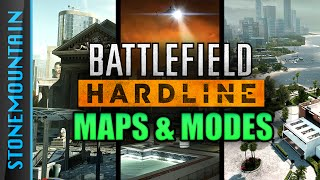 Battlfield Hardline: ALL Maps and Game Modes