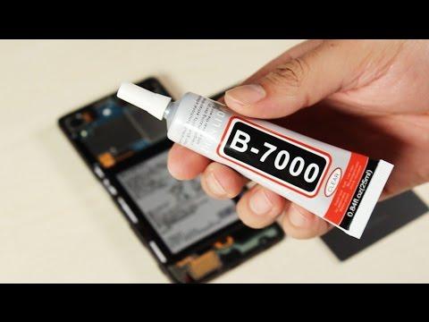 Comment Recoller L'écran De Son Smartphone Avec La B7000 ?