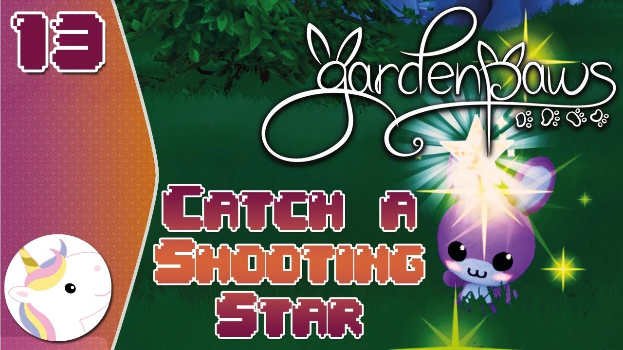 aee8595a10e We CATCH A Shooting Star! ~ Garden Paws #13 | Early Access - YouTube