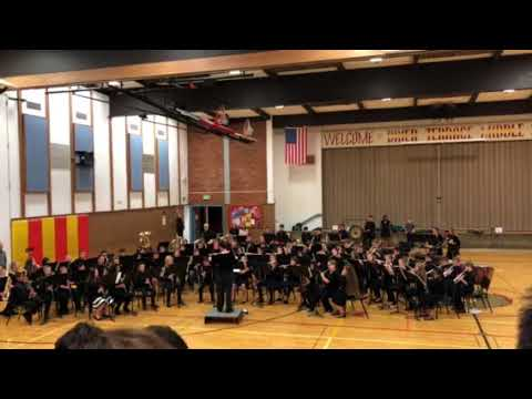 """Appalachian Hoedown"" by Scott Watson played by the Brier Terrace Middle School 7th Grade Concert B"