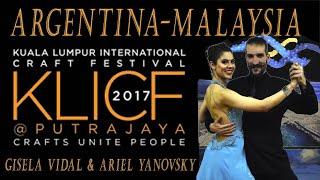 Gisela Vidal & Ariel Yanovsky in Malaysia (During The Making of KLICF 2017)
