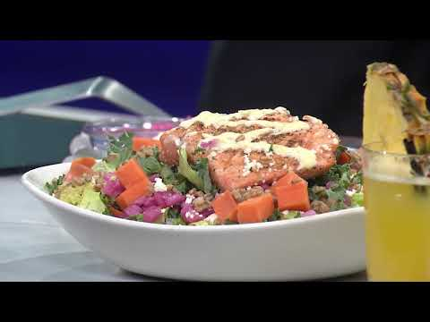 Monday Menu: Bonefish Grill's Salmon Superfood Salad (and A Margarita)