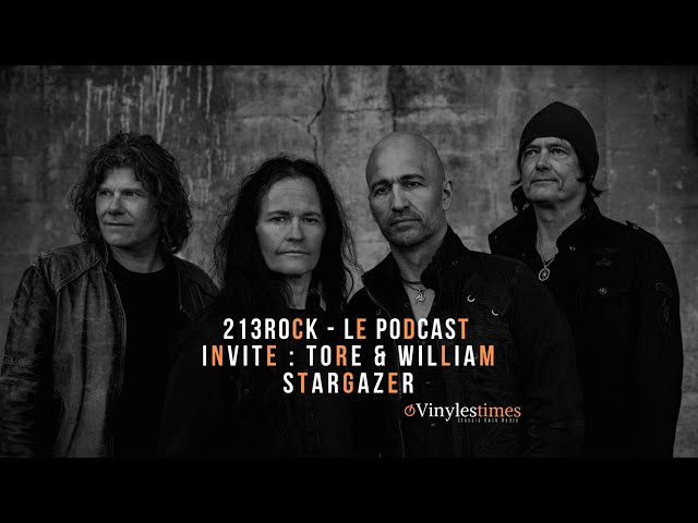 213Rock 🎧Interview 🎧 Harrag Melodica with Tore & William of Stargazer 07 11 2019