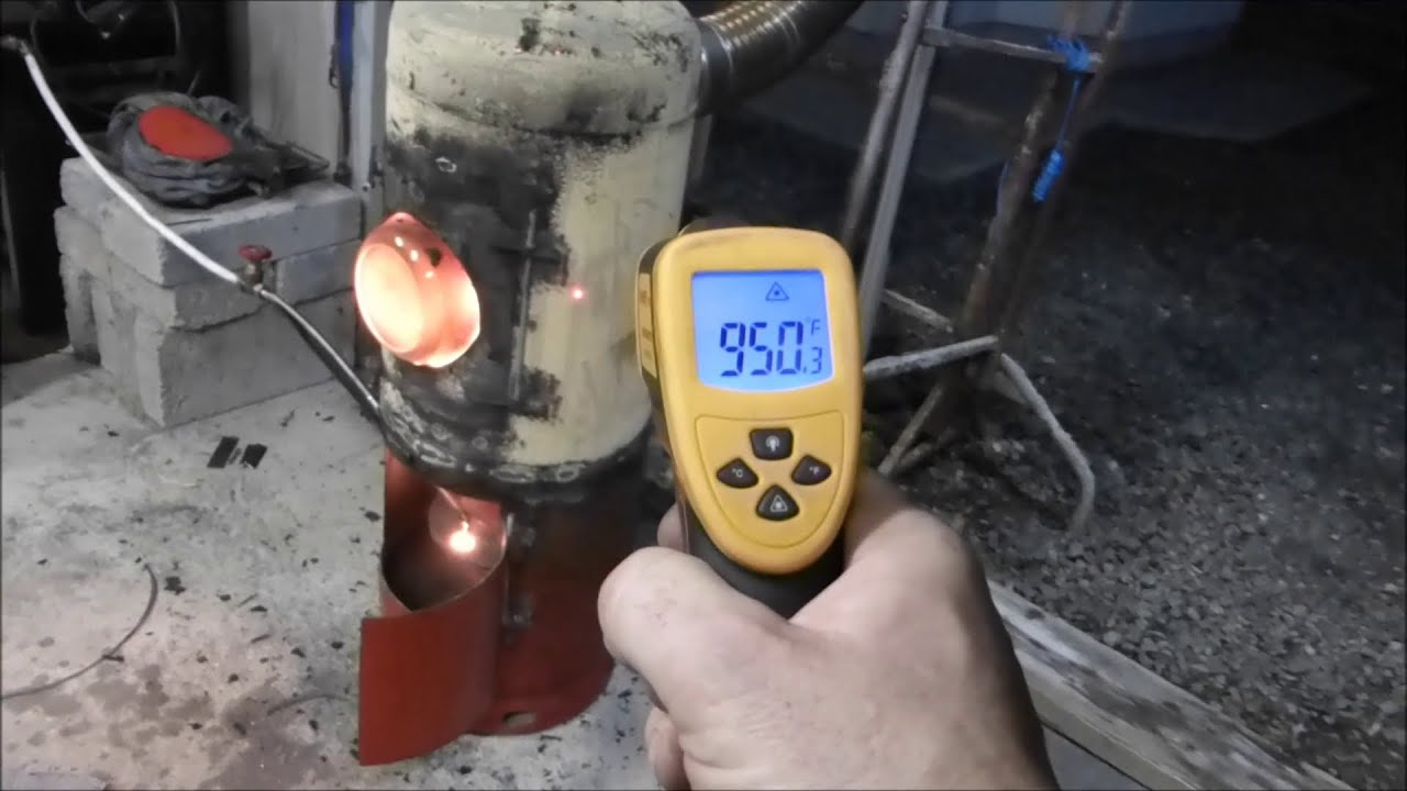 Make a great waste oil and wood burning stove heater part for Heater that burns used motor oil