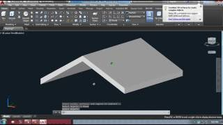 Creating Gable roof in autocad