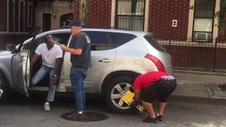 Car gets booted in Queens, NY