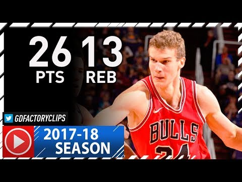 Lauri Markkanen Full Highlights vs Suns (2017.11.19) - 26 Pts, 13 Reb