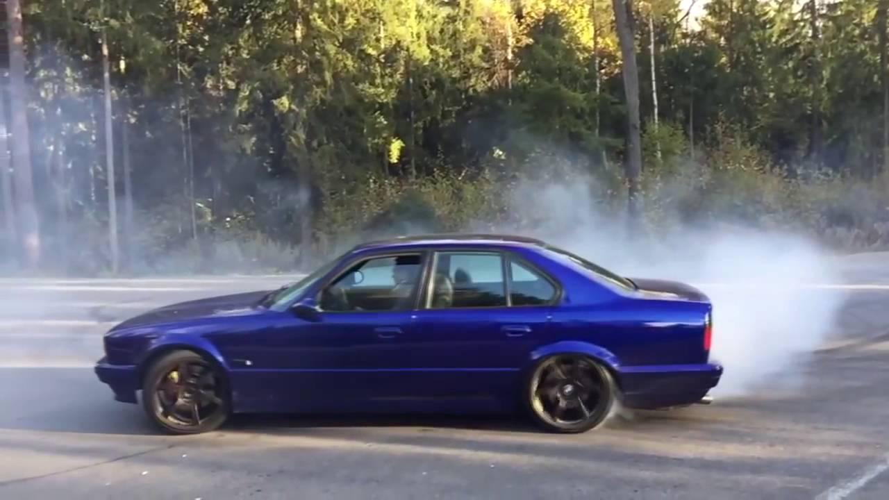 2016 Bmw M5 >> BMW E34 Drift & Sound - YouTube