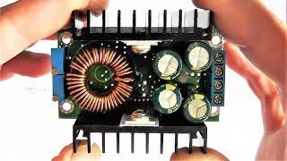 Как сделать регулировку напряжения от ноля, на преобразователе DC-DC Step Down Constant Voltage.Тест