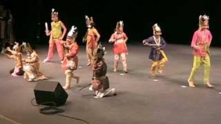 Amra Sabai Raja - Kids Dance Drama - Seattle Durga Pujo 2008