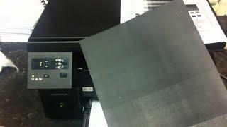 HP друкує чорні листи
