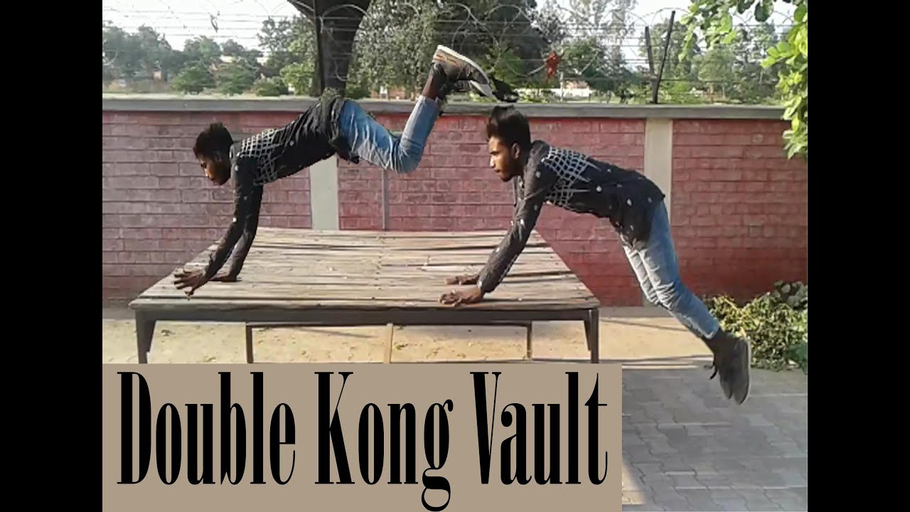Learn how to kong vault parkour tutorial series youtube.