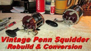 Video Penn Squidder 140 Conventional Fishing Reel Rebuild & Conversion download MP3, 3GP, MP4, WEBM, AVI, FLV Juni 2018