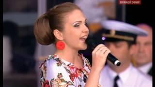 Марина Девятова и хор 2000чел. Хорошие девчата.