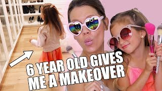 Today I let one of our friends daughters give me a complete makeover of my outfit and makeup ... hit the like button if you'd like to see Ava come back again! xo's ...