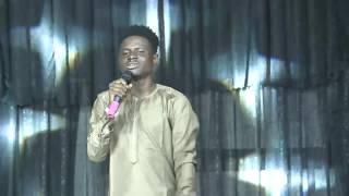 KENNY BLAQ sings AJE KU IYA at Gbenga Adeyinka's LAFFMATTAZZ 2017 in Ibadan