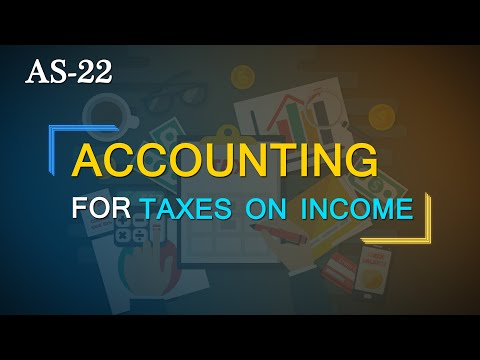 AS-22 - Accounting for Taxes on Income (Full Standard)