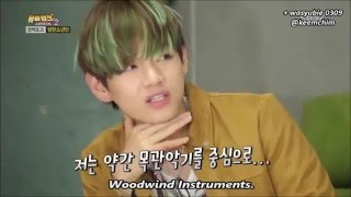 bts v pronounced saxophonist wrong 19