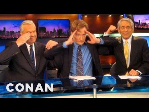 How Conan Became A Local News Anchor - CONAN on TBS