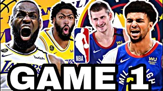 🟡EN DIRECTO: LOS ÁNGELES LAKERS vs DENVER NUGGETS GAME 1 🔥 NBA PLAYOFFS 2020
