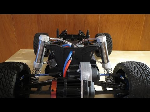 RC Car Pneumatic Antiroll Suspension Prototype (PART 1)