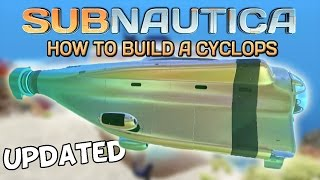 Subnautica | How to find the Cyclops Fragments! Tutorial
