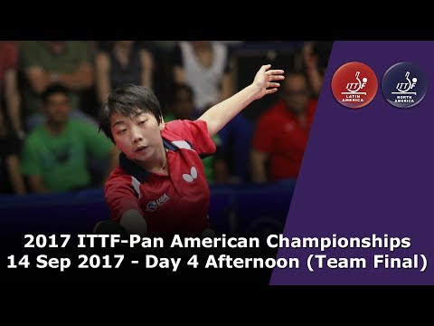 2017 ITTF-PanAm Championships - Day 4 Afternoon (Team Final)