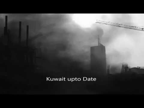 Building Caught Fire in Kuwait City