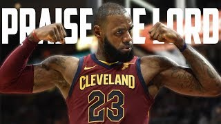 LEBRON JAMES MIX &quotPRAISE THE LORD&quot BY AAP ROCKY
