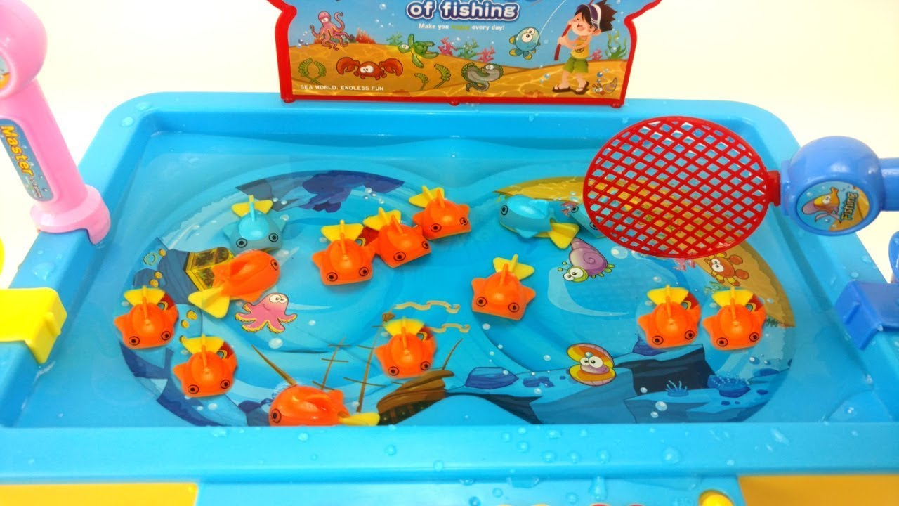 Let 39 s go fishing game family game night fun fishing game for Lets go fishing game