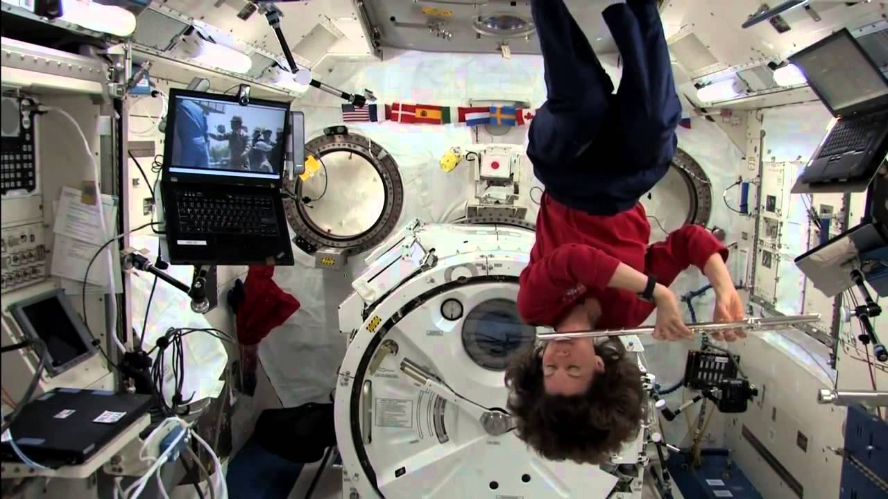 astronauts having fun in space - photo #17