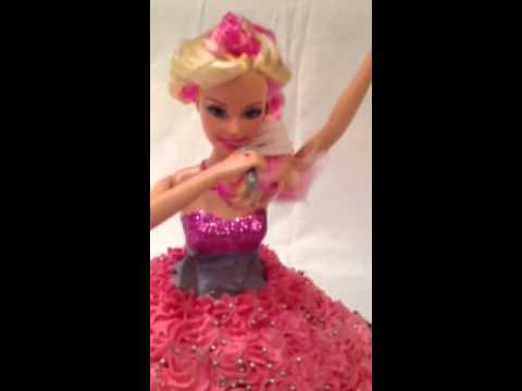 Barbie and the Pop Star Cake