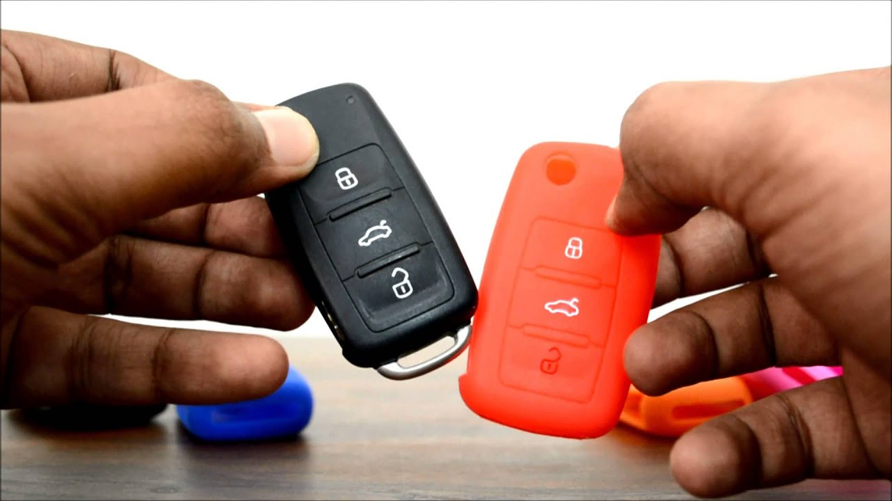 silicone car key cover for skoda fabia rapid laura octavia yeti superb youtube. Black Bedroom Furniture Sets. Home Design Ideas