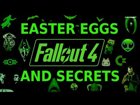 Fallout 4 Easter Eggs And Secrets 1080p HD