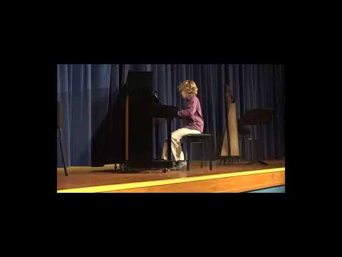 Jupiter Middle School Piano & Harp Recital May 21st 2018