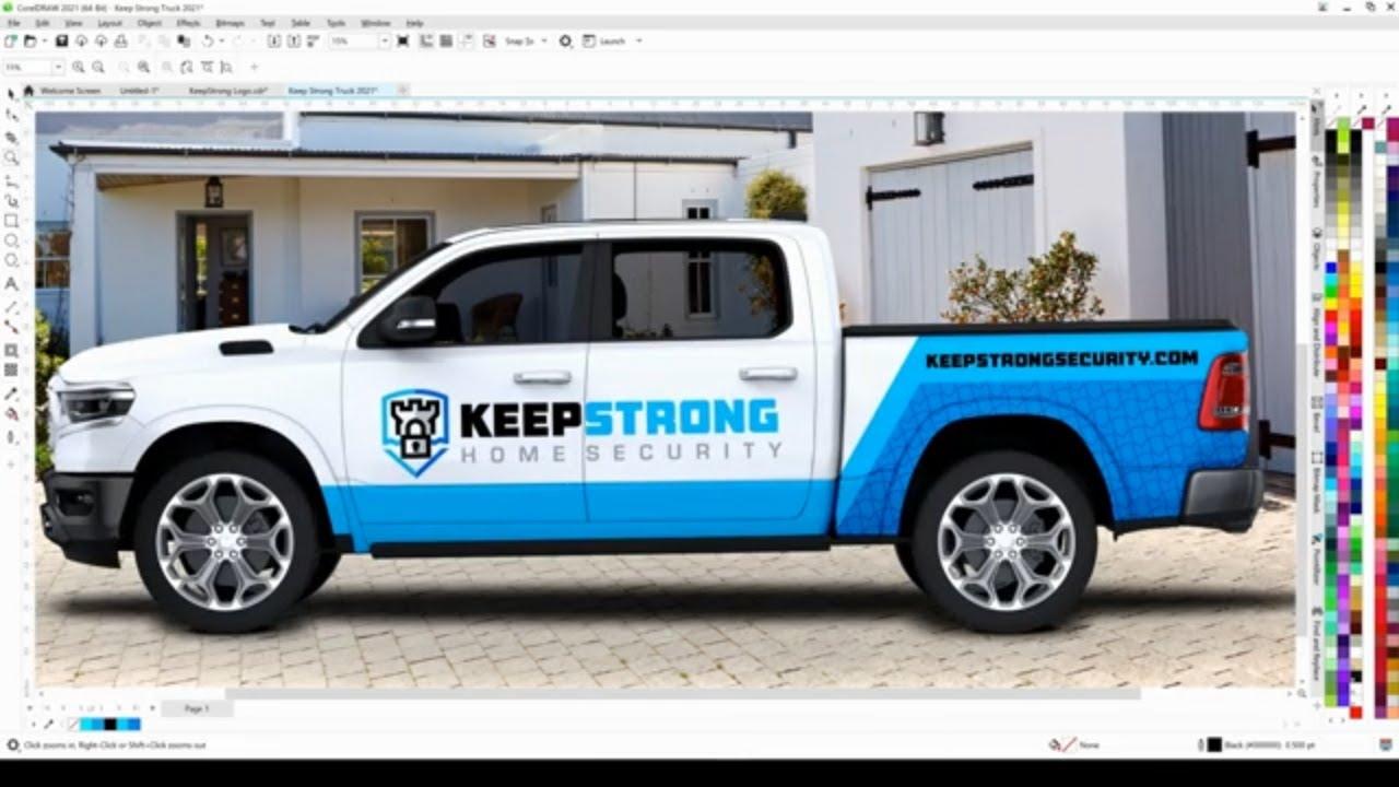 Download How to Design Vehicle Advertising   Joseph Diaz   CorelDRAW for Windows
