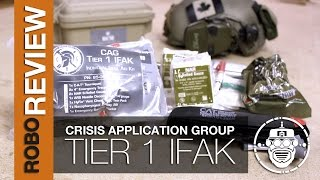 Gambar cover Robo-Airsoft: Robo Gear Review - Crisis Application Group - Tier One IFAK Kit