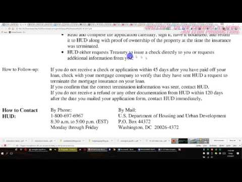 The FHA and MORTGAGE INSURANCE DID YOU KMOW or do you care?    2017 05 19 by EEON
